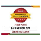 Bair Medical Spa Wins Albuquerque Journal Readers' Choice Award